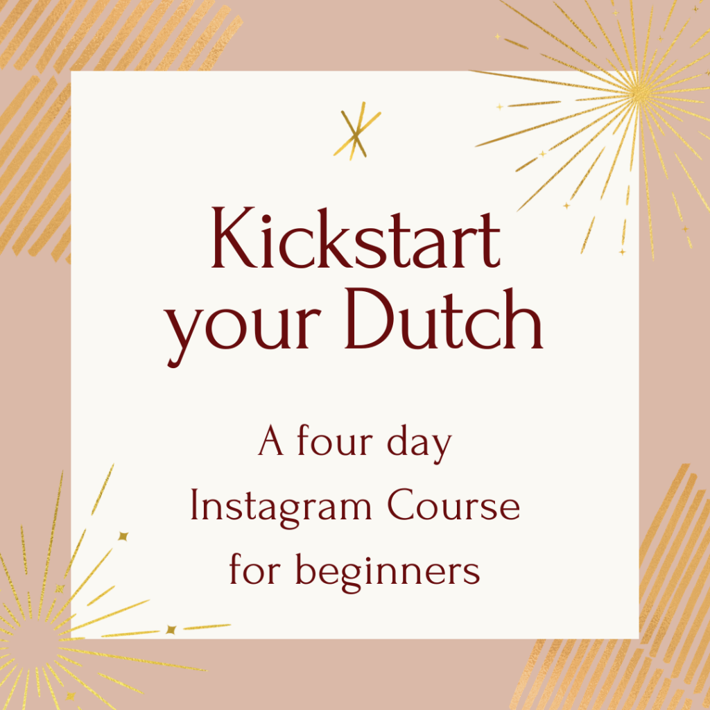 instagram course kickstart your dutch