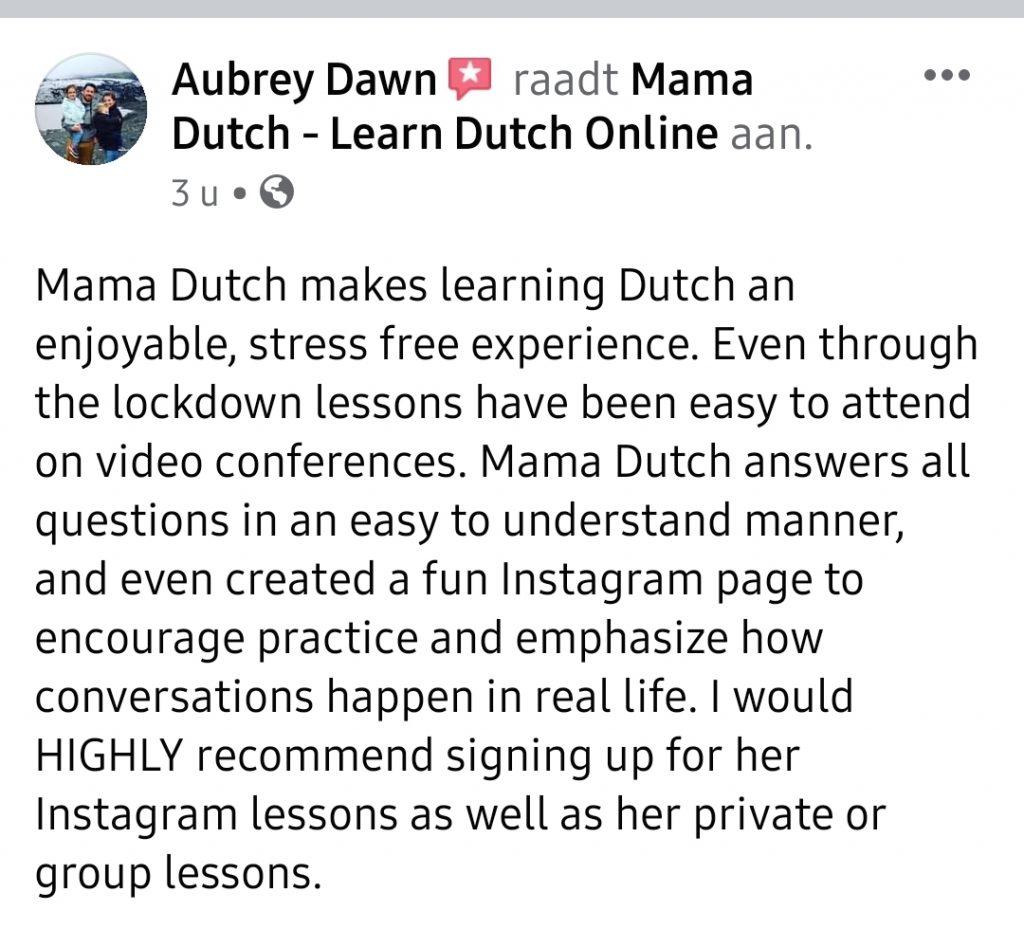 reviews aubrey facebook