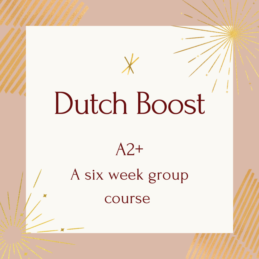 courses dutch boost