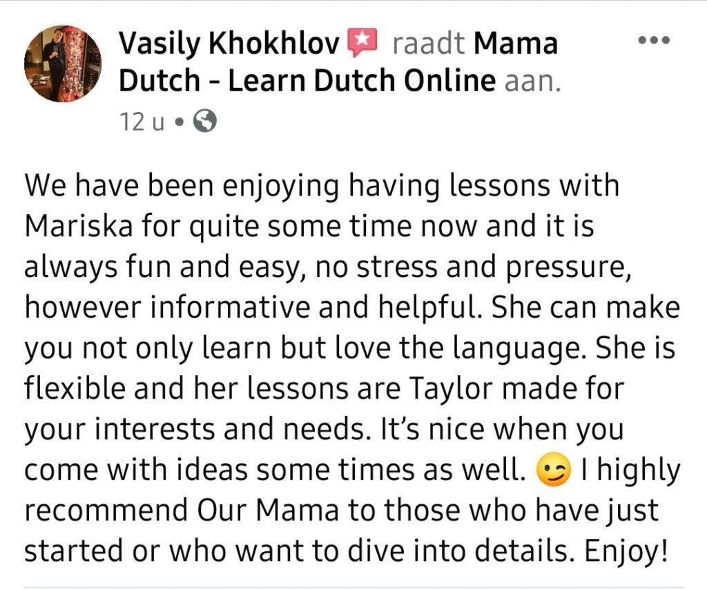 review facebook vasily